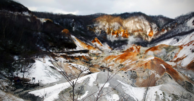 Jigokudani Hell Valley Paranoma