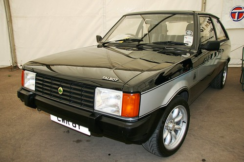 1982 CWR 8Y Talbot Lotus Sunbeam