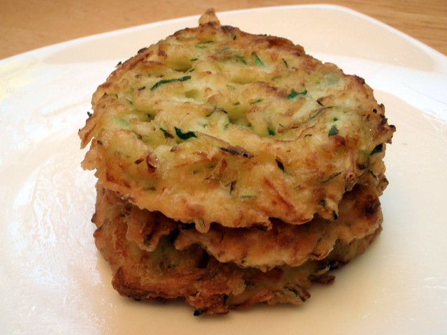 Korean zucchini pancakes | Flickr - Photo Sharing!