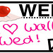 Wall Wednesday Thumbnail with Helvetica font