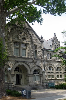 New Orleans - Uptown: Tulane University - Tilton Memorial Hall