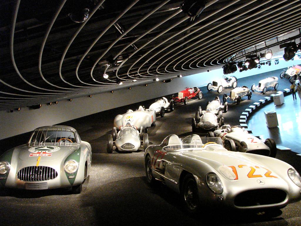 Museo Mercedes Benz Interior