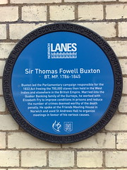 Photo of Fowell Buxton blue plaque