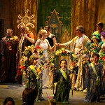 Marriage of Tomino and Pamina in The Magic Flute