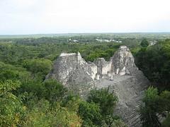 Pirámide de Becán
