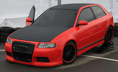 executive car(0.0), family car(0.0), automobile(1.0), automotive exterior(1.0), audi(1.0), wheel(1.0), vehicle(1.0), automotive design(1.0), city car(1.0), audi a3(1.0), compact car(1.0), bumper(1.0), land vehicle(1.0), luxury vehicle(1.0),