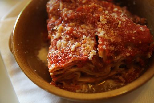 Lasagna in Pompeii