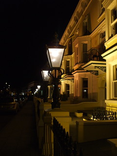 hotels and lamposts