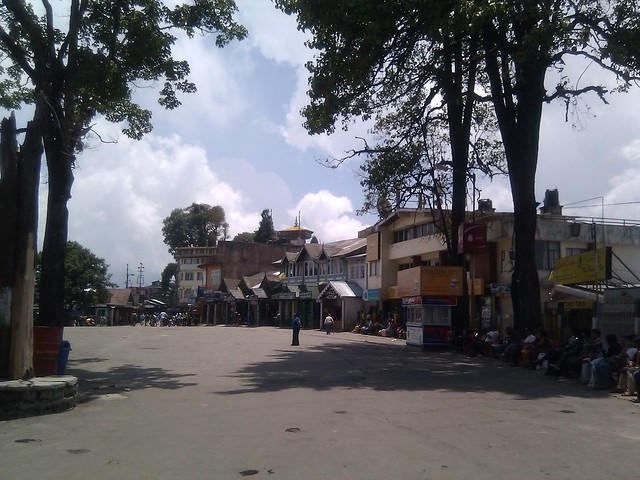 mall road darjeeling