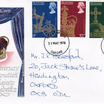 31-May-1978 UK First Day Cover
