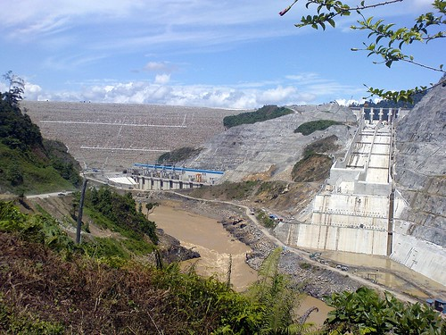 bakun dam construction