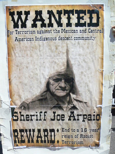 Wanted: Sheriff Joe Arpaio