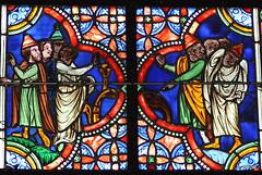 Détail du Vitrail de St-Etienne - Cathédrale de Coutances - Manche - Basse Normandie