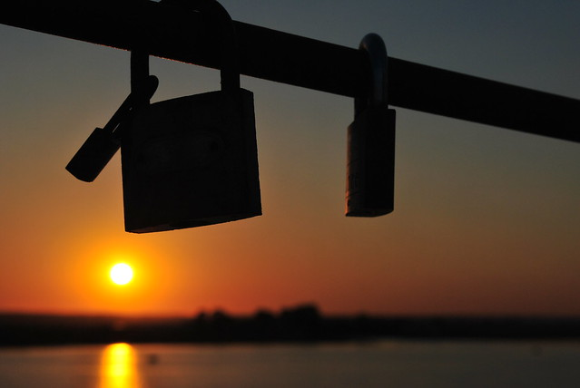 Sunset in Huelva