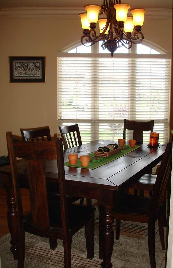 Formal Dining Table ( Indian rose wood) with 6 chairs