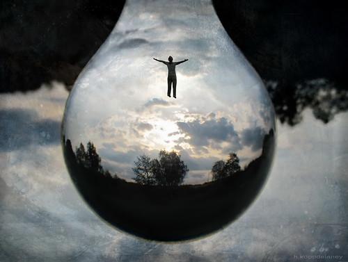 Universe in a magic Drop