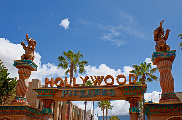 Hollywood Pictures Backlot Entrance