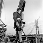 Rosina Vanier, 16-year-old female worker employed in the Pictou shipyard / Rosina Vanier, une ouvrière âgée de 16 ans, employée au chantier naval Pictou