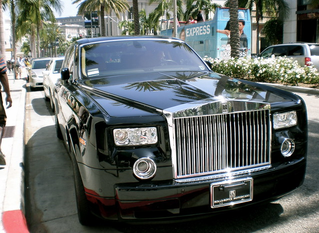 rolls royce phantom beverly hills flickr photo sharing