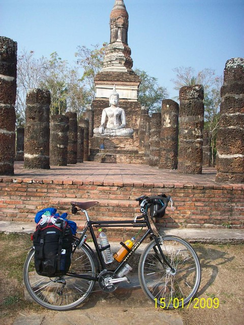 Bike and budha