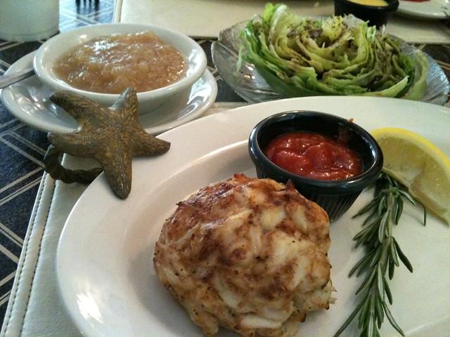 Seafood Crab Cake Slider