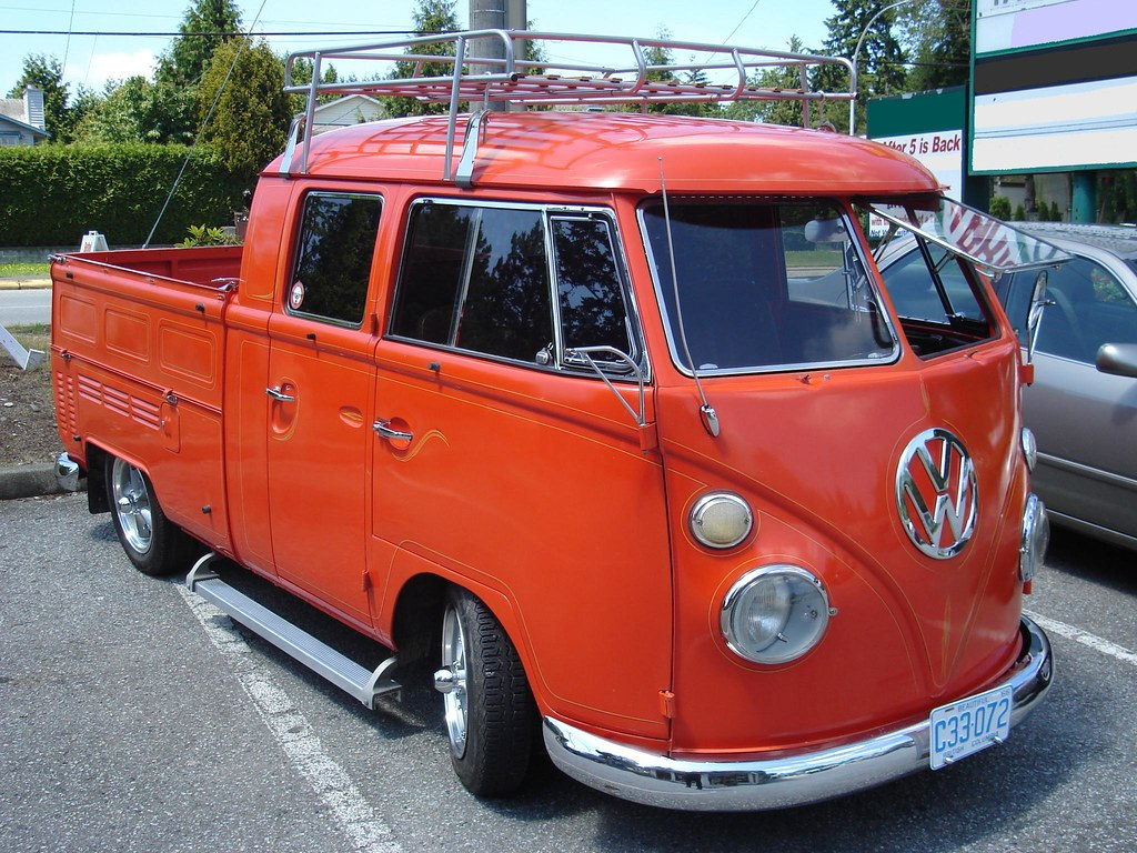 1966 Volkswagen Type 2 Double Cab Truck T1 A Photo On