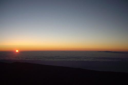 españa sunrise islands spain amanecer tenerife summit canary teide cima