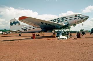 149az - SERVIVENSA DC-3; YV-609C@CAJ;03.10.2001