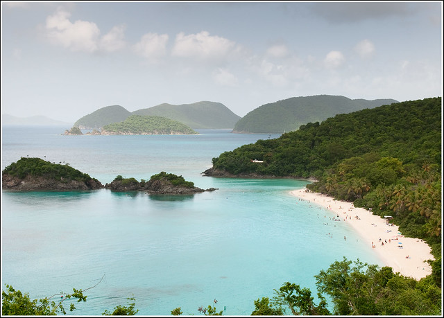 Trunk Bay, St. John, U.S Virgin Islands.