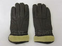 safety glove, leather, glove,