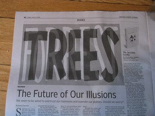 The WSJ can't see the typo for the trees