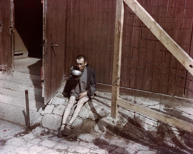 Buchenwald survivor, photographer unknown