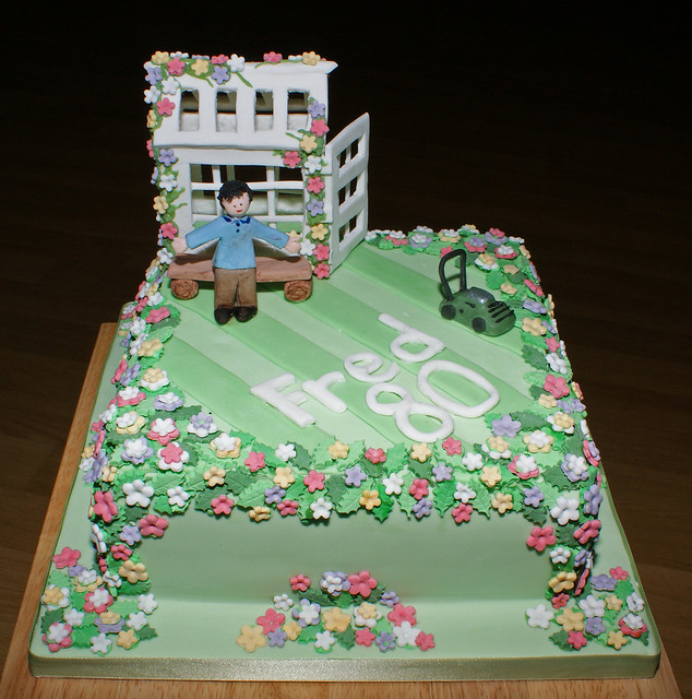 Gardening Birthday Cake Flickr - Photo Sharing!