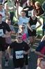 Jubilant runners at start of Lloyds TSB Cardiff Half Marathon