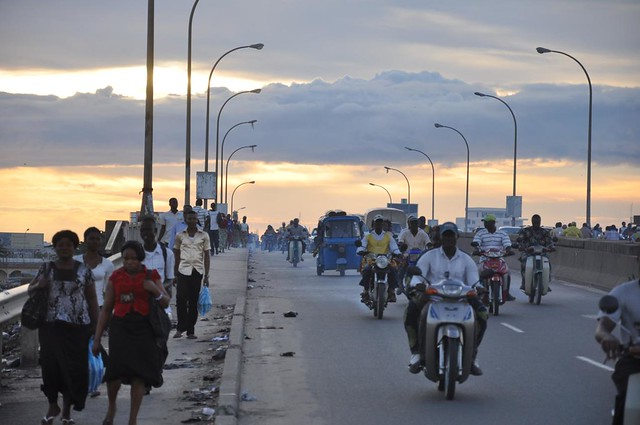 Traffic in Cotonou