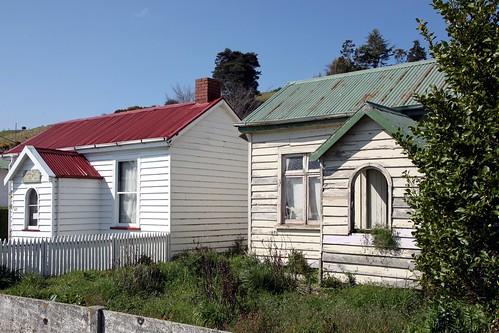 Old house, Mataura, Southland, New Zealand