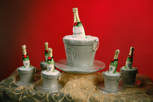 amazing wedding cakes season 1 amazing wedding cakes champagne theme flickr photo 10726