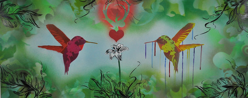 When Hummingbirds Fall in Love