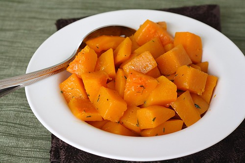 Maple-Braised Butternut Squash