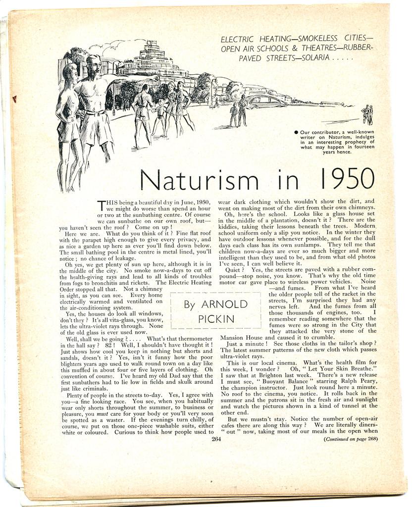 Naturism in 1950