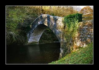 Image of Pontygwaith. autumn bike river canal path railway valley cycle taff tafftrail