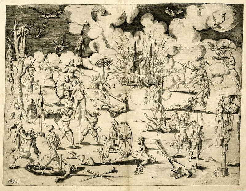 The Torments of Hell, 1560