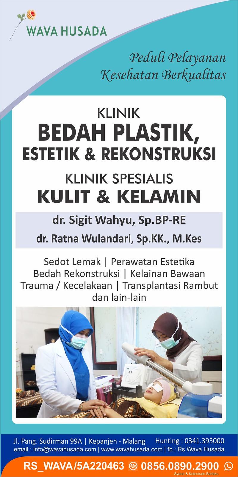 klinik bedah plastik, estetik, dan rekonstruksi wava husada