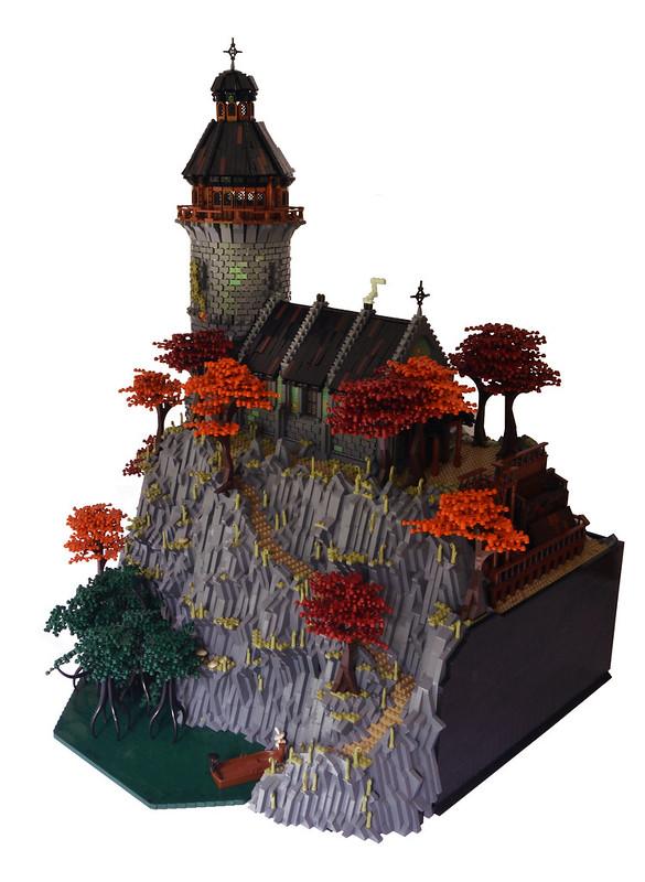 Abbaye LEGO