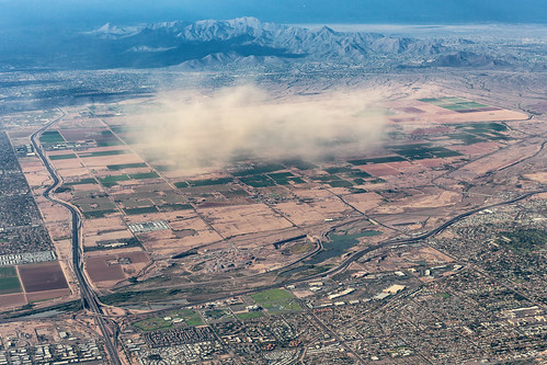 aerial chrisvallephotography duststorm landscape weather mesa arizona unitedstates us