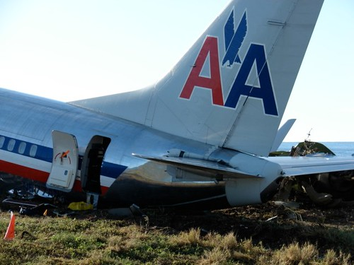 American Airline Plane Crash Lands in Kingston, Jamaica