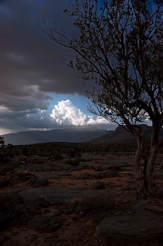 clouds dusk oman 2009 hajarmountains jebelshams sonyα350