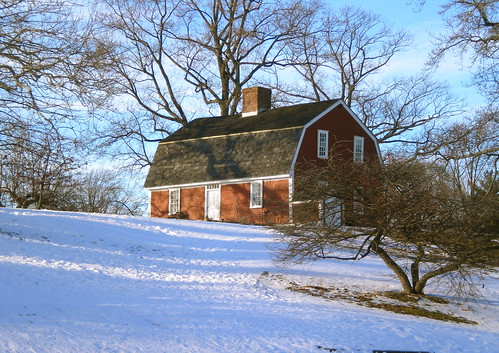 Betsy Williams Cottage in Winter