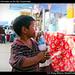 Stealing chocolate at the fair, Guatemala