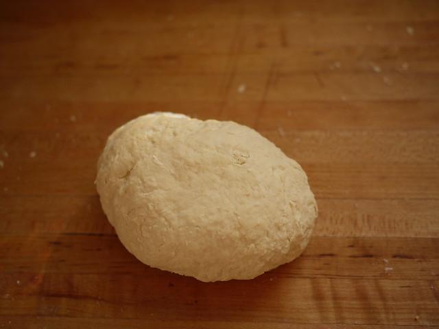 Basic Sourdough Bread - Flour and starter mixed   Explore gr ...